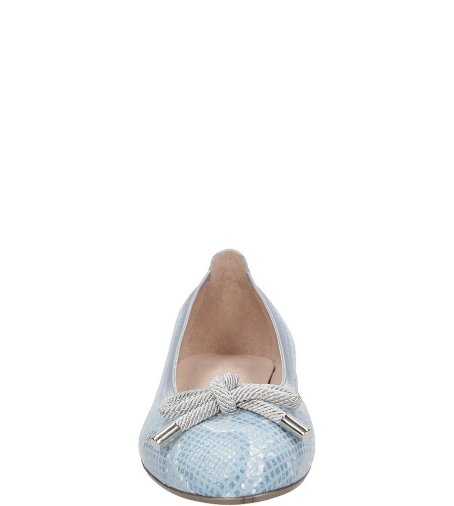 Damskie BALERINY HISPANITAS HV62715 niebieski;biały;