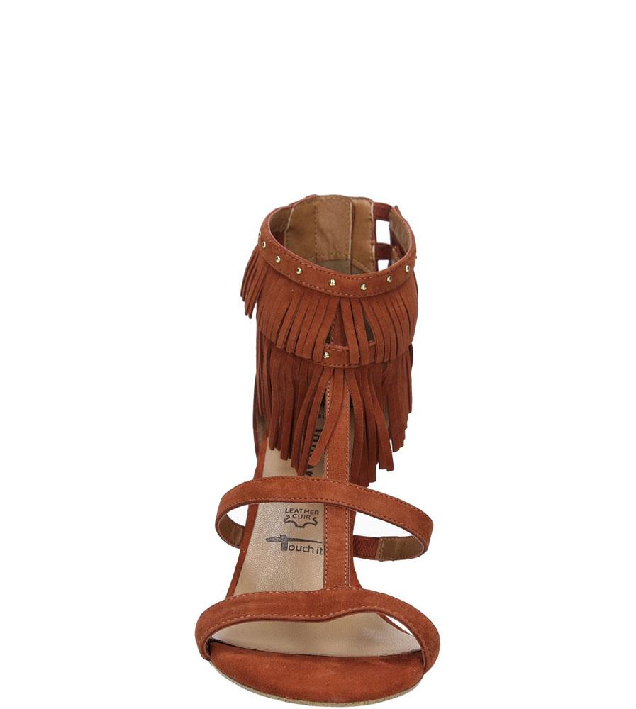 Damskie SANDAŁY TAMARIS 1-28346-26 brązowy;;