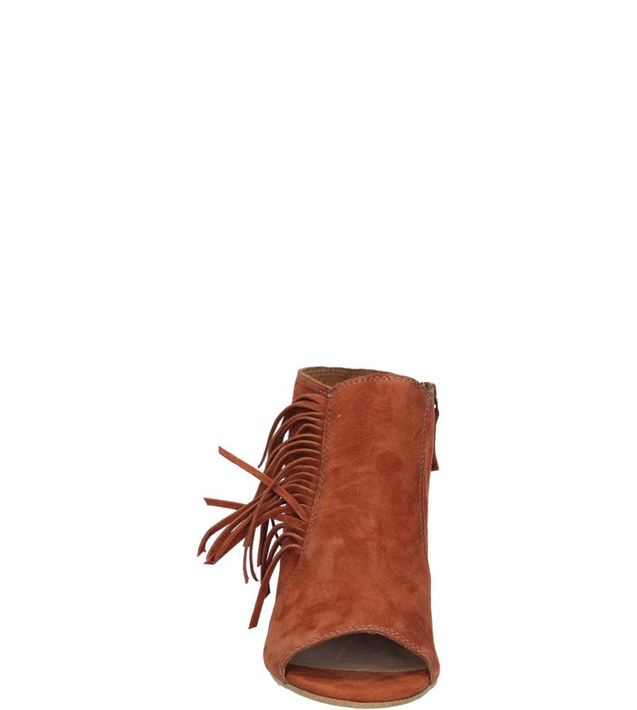 Damskie SANDAŁY TAMARIS 1-28348-26 brązowy;;
