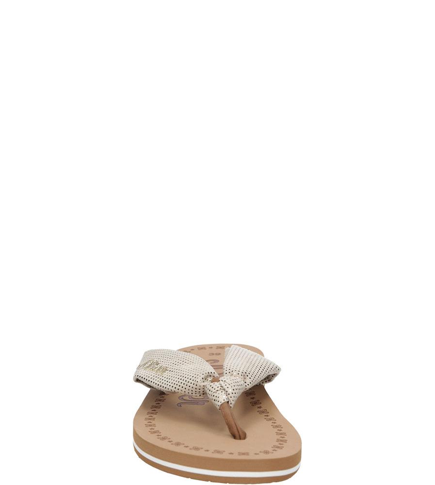 Damskie JAPONKI S.OLIVER 5-27103-26 beżowy;;
