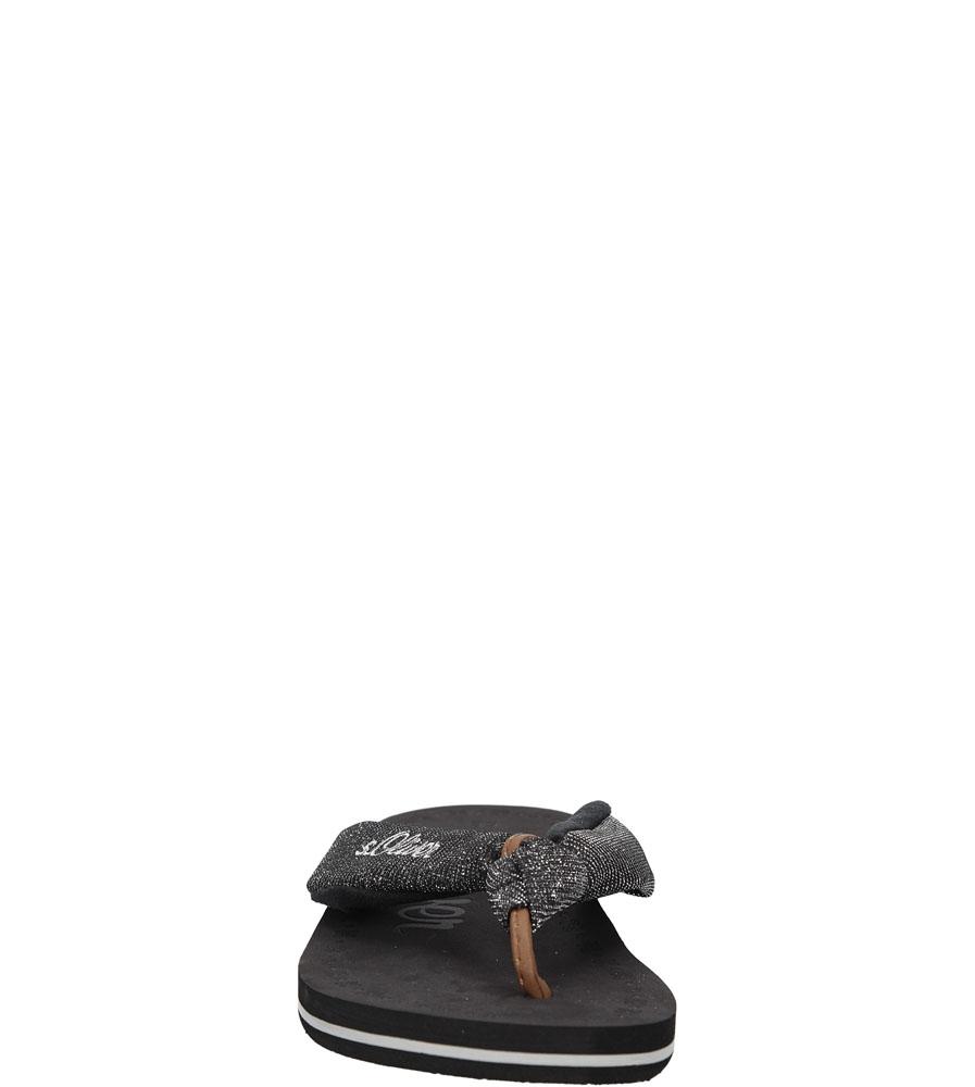 JAPONKI S.OLIVER 5-27103-26 kolor czarny