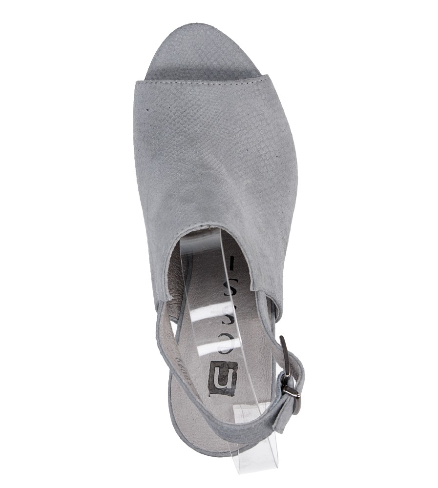 SANDAŁY NESSI 66005 wys_calkowita_buta 15 cm