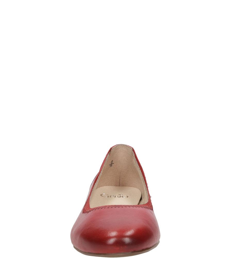 Damskie BALERINY CAPRICE 9-22100-26 czerwony;;
