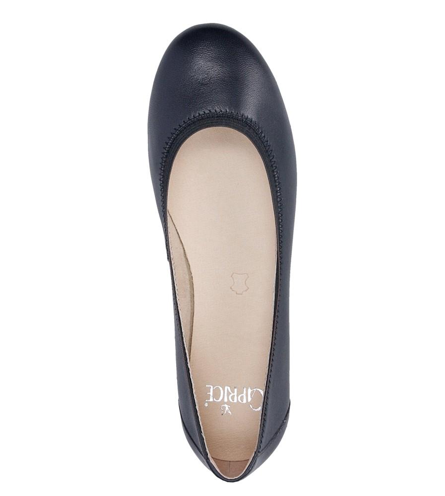 Damskie BALERINY CAPRICE 9-22100-26 niebieski;;