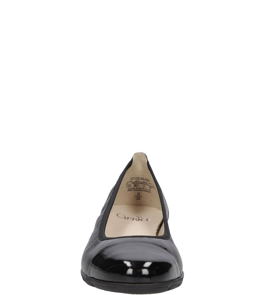 BALERINY CAPRICE 9-22102 kolor czarny