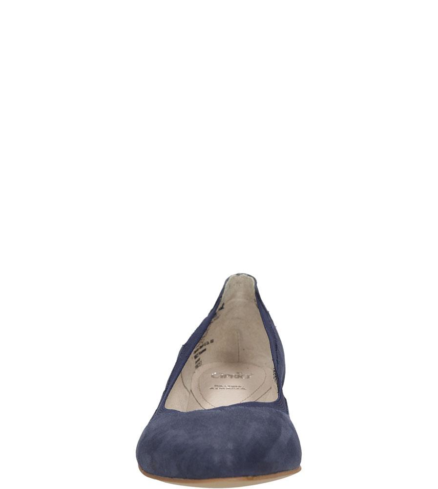 Damskie BALERINY CAPRICE 9-22108-26 niebieski;;