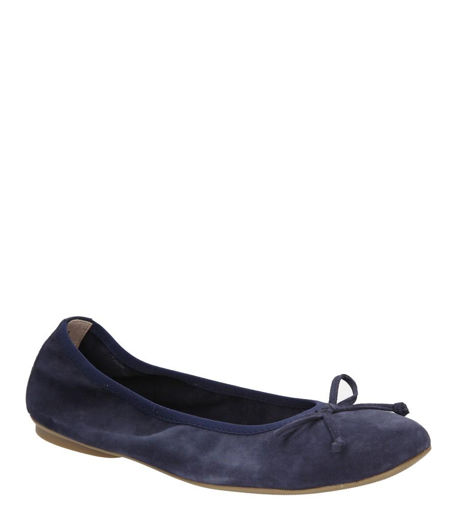 Damskie BALERINY CAPRICE 9-22115-26 niebieski;;