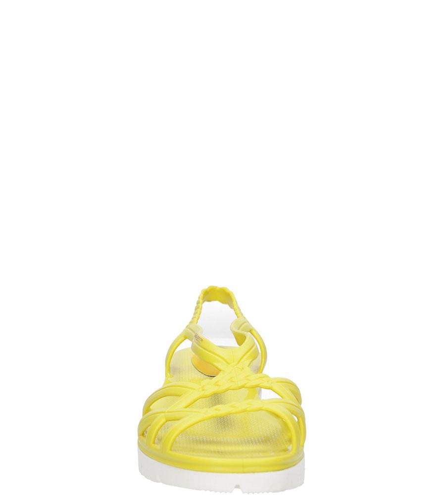 Damskie MELISKI LEMON JELLY MIAKI 03 żółty;;