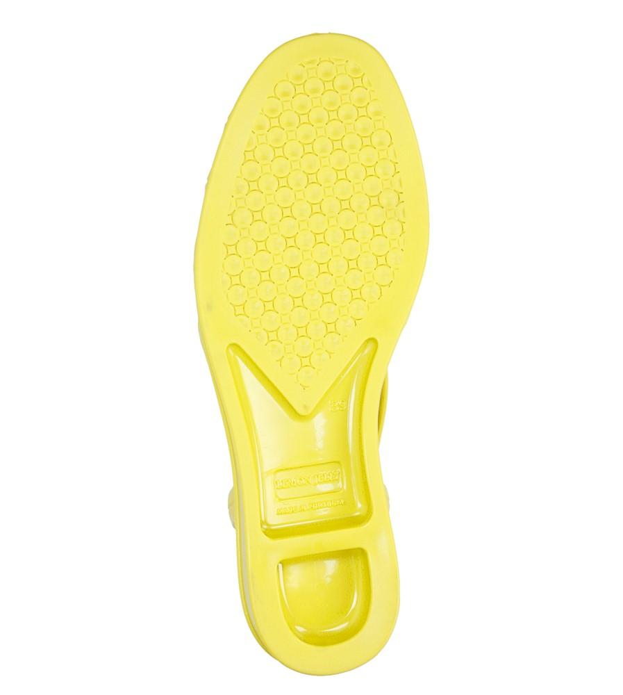 Damskie MELISKI LEMON JELLY MINT 13 żółty;;
