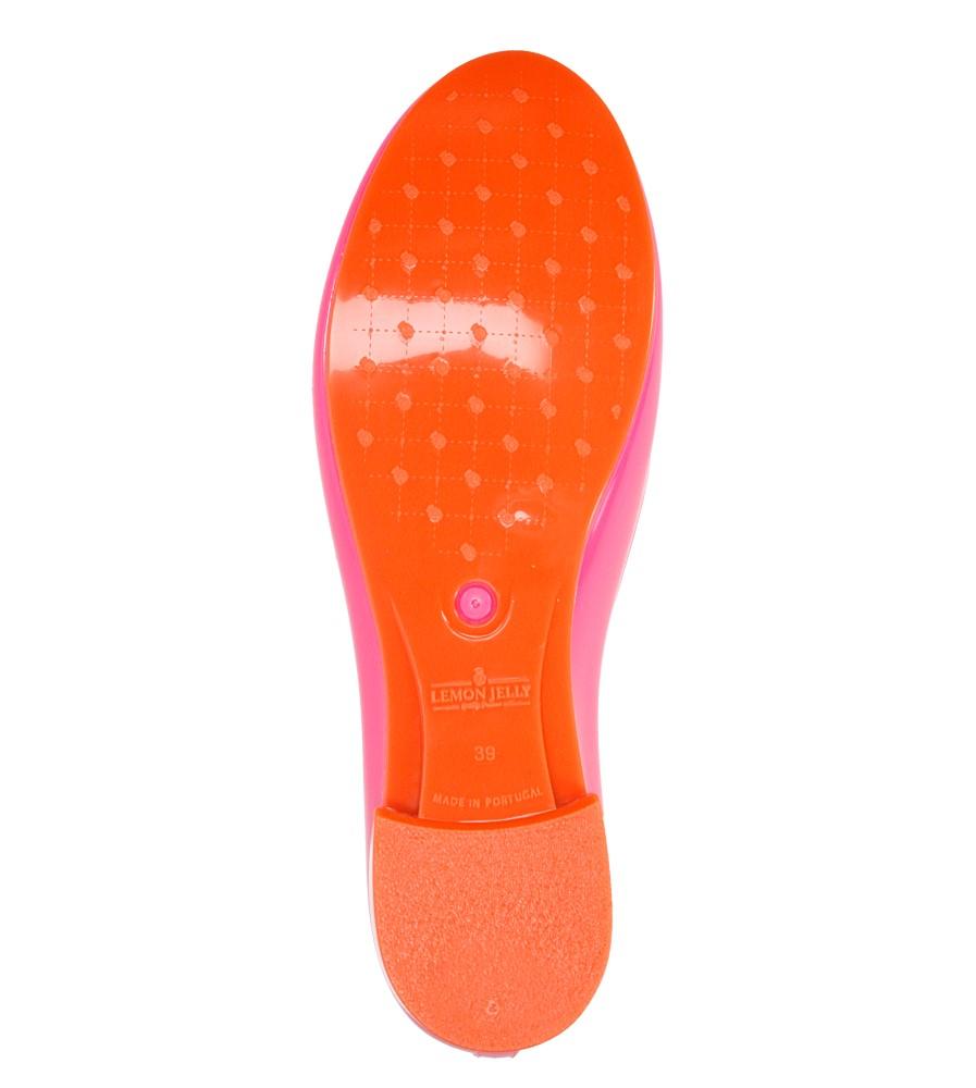Damskie MELISKI LEMON JELLY MATILDA 03 różowy;pomarańczowy;