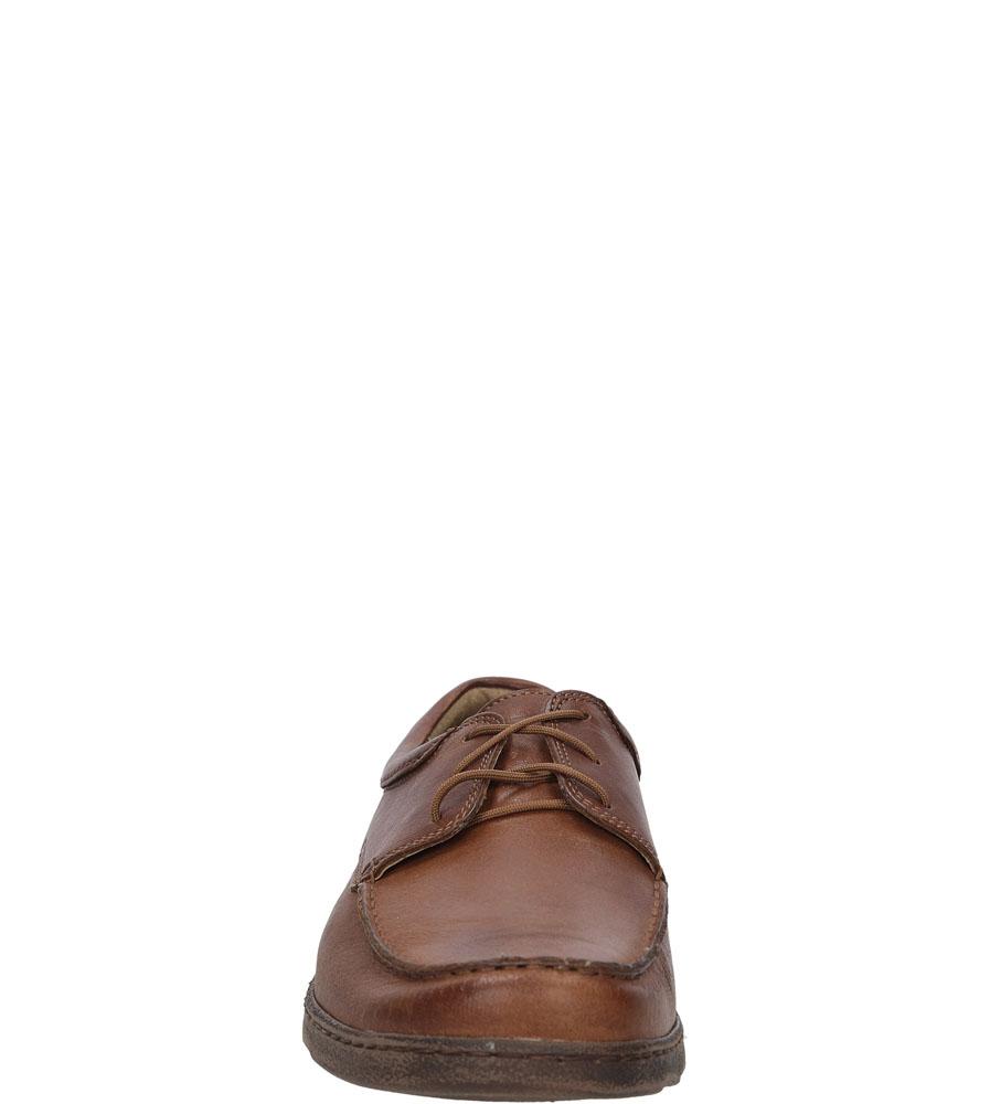 Męskie PÓŁBUTY ENZO 585 brązowy;;