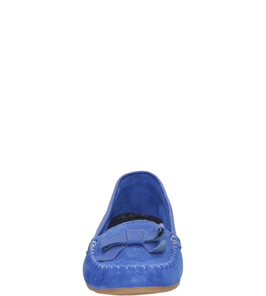 Damskie MOKASYNY FILIPE 4097 niebieski;;