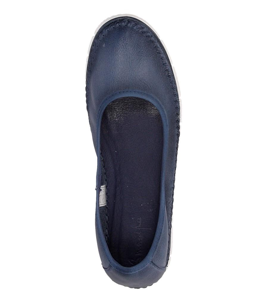 Damskie BALERINY MACIEJKA 02449 niebieski;;