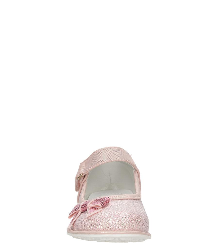 Dziecięce BALERINY ZSH16-8800DZ2TPB różowy;;