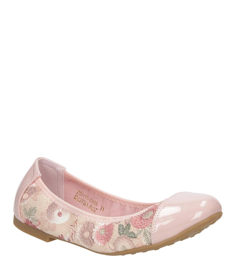 Dziecięce BALERINY ZSH16-8805DZ3TBA różowy;;