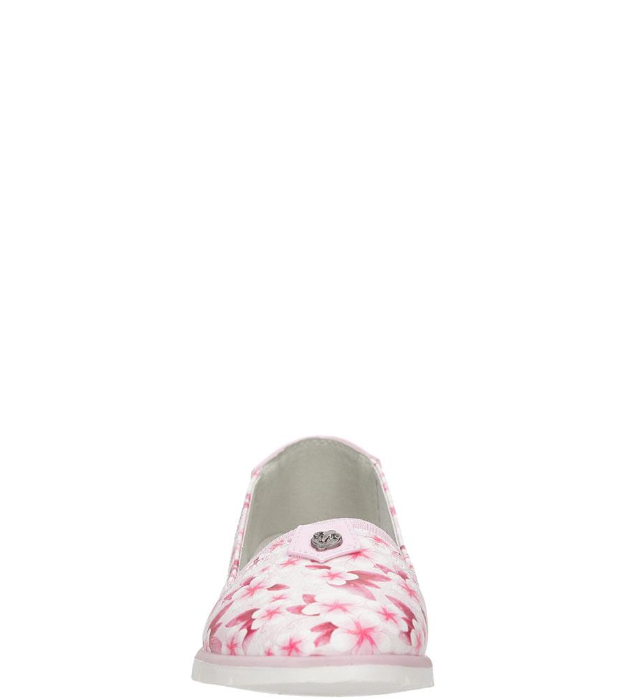Dziecięce BALERINY ZSH16-8808DZ3TPB różowy;;