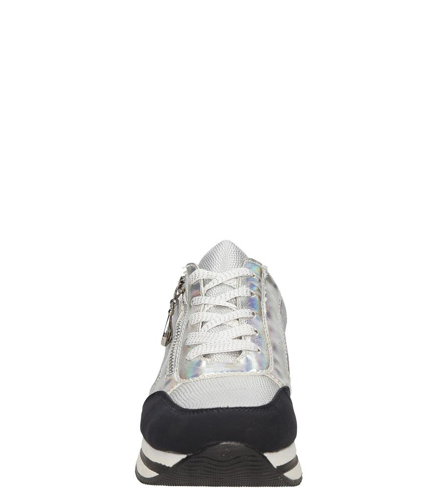 SPORTOWE MCKEYLOR HX16-2533DMTPB kolor czarny, srebrny