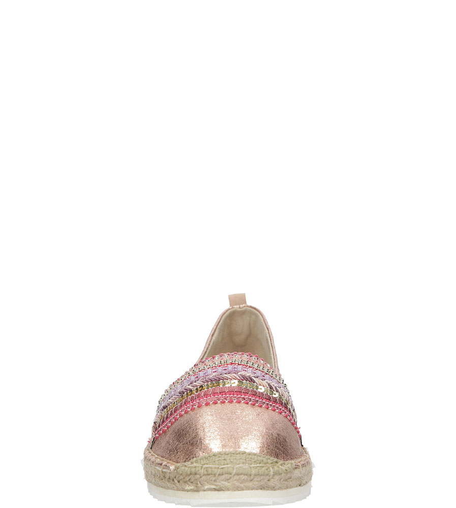 Damskie ESPADRYLE BULLBOXER 011018 różowy;;