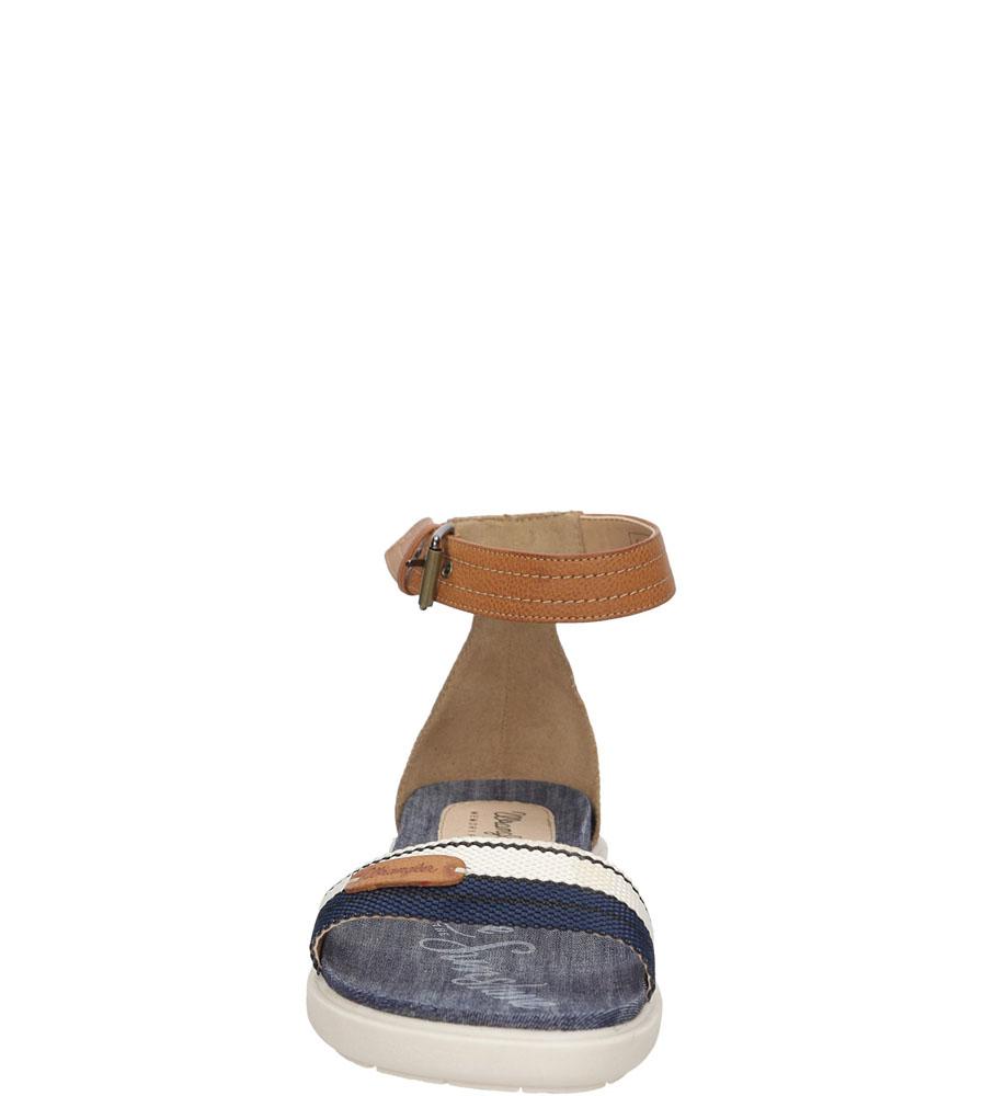 Damskie SANDAŁY WRANGLER SUNSHINE MAGNOLIA WL161632 niebieski;;