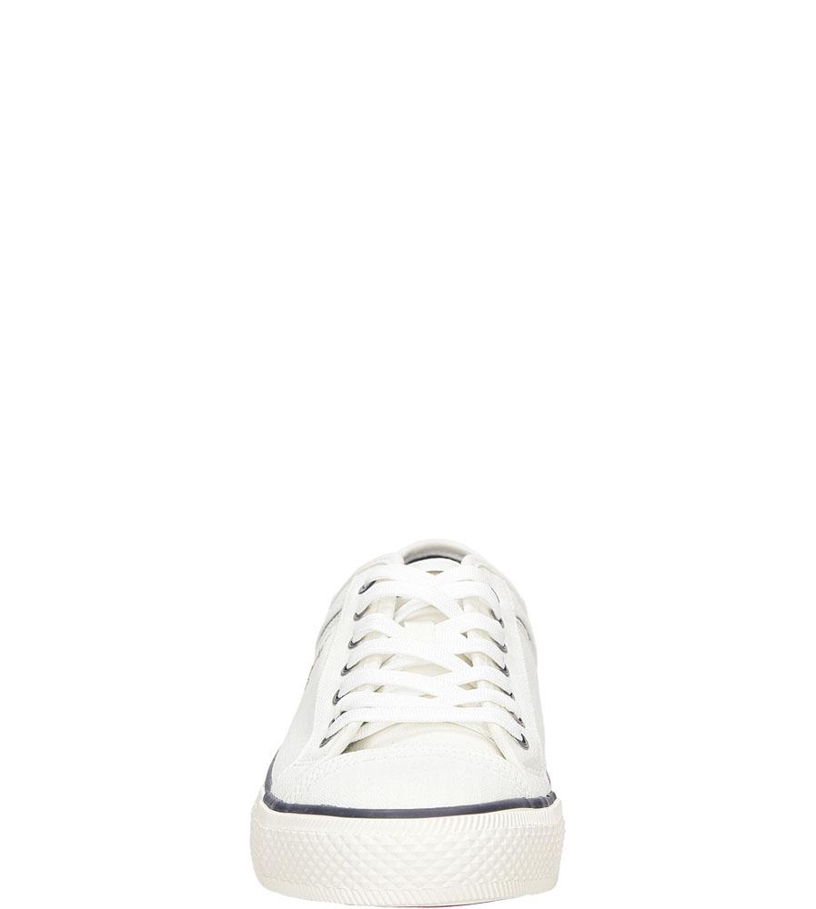 Męskie TRAMPKI WRANGLER STARRY LOW CANVAS WM161030 biały;;