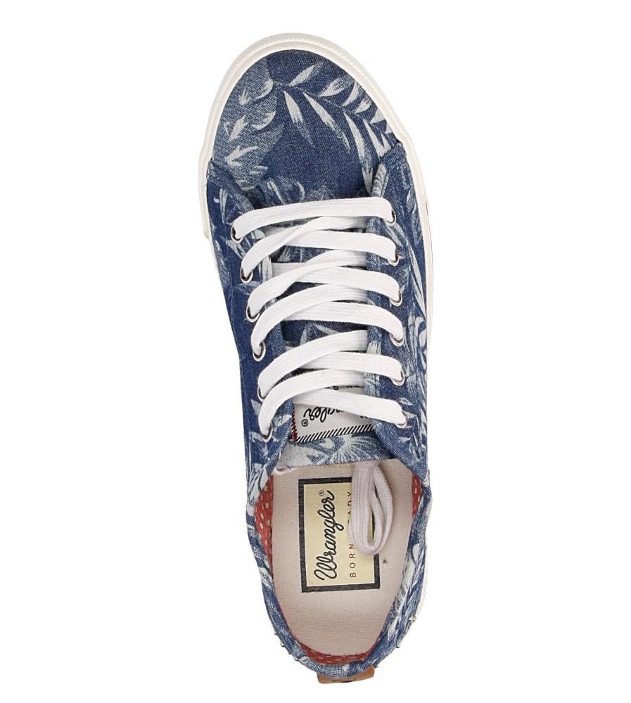 Damskie TRAMPKI WRANGLER STARRY LOW WL161520 niebieski;;