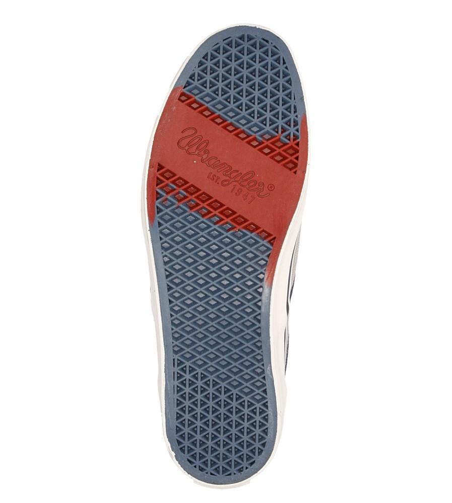 Męskie SLIP ON WRANGLER LEGEND SLIP ON WM161011 szary;;