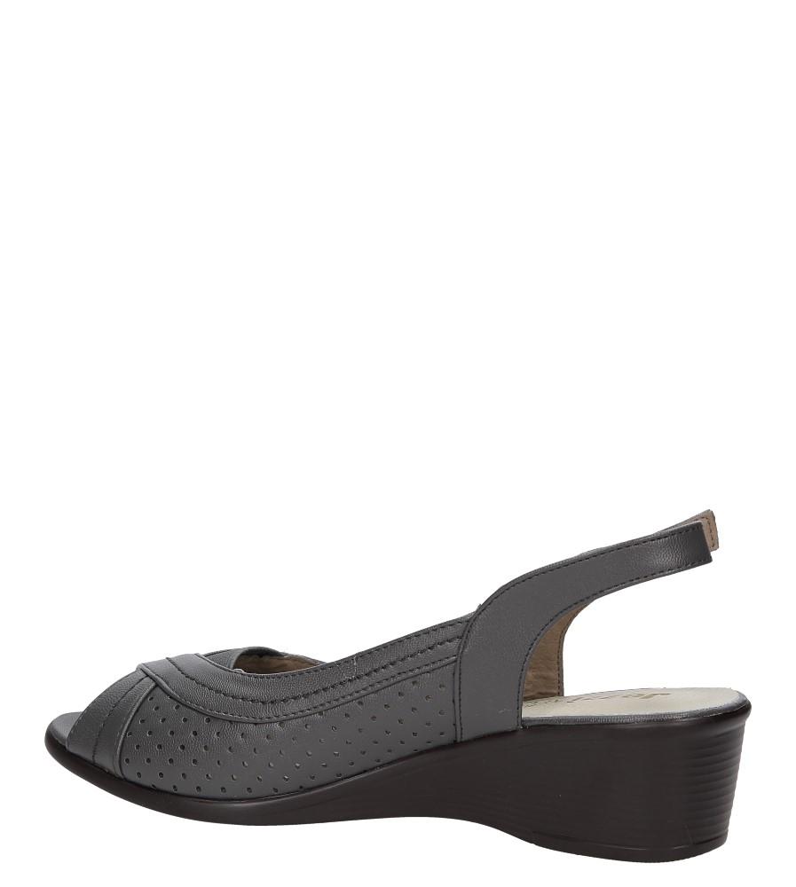 Sandały Jezzi MR846-1 kolor szary