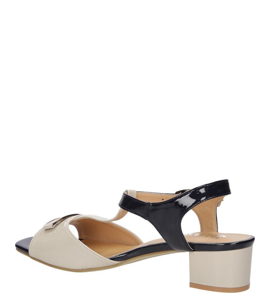 Damskie Sandały Jezzi SA22-4 beżowy;;