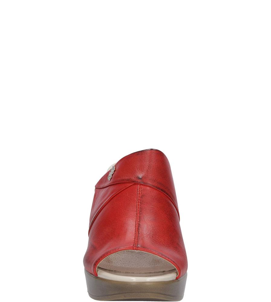 KLAPKI JEZZI SA17-5 kolor czerwony