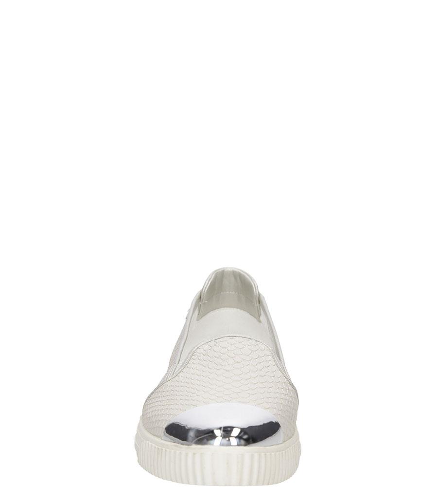 Damskie SLIP ON GEOX D621MD ORZNF biały;;