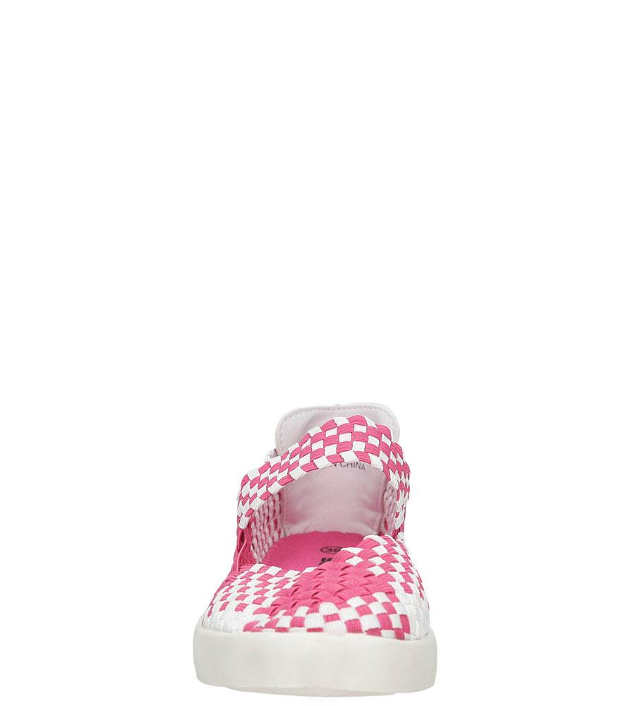 Damskie SPORTOWE CASU B1371-5 różowy;biały;