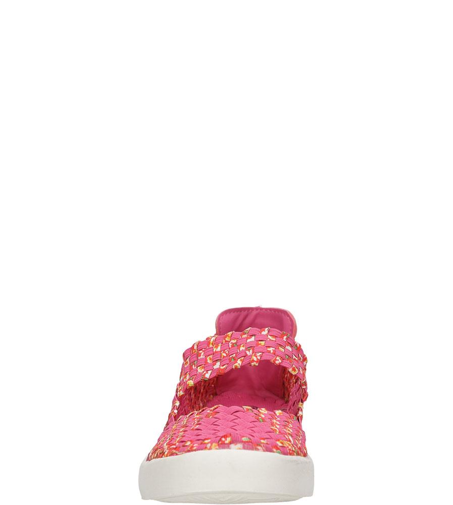 Damskie SPORTOWE CASU B1371-6 różowy;;