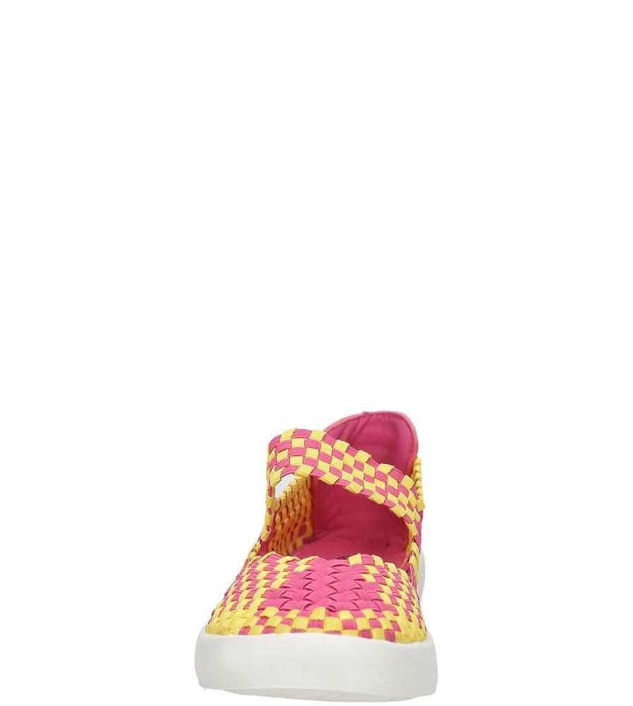 Damskie SPORTOWE CASU B1371-1 różowy;żółty;