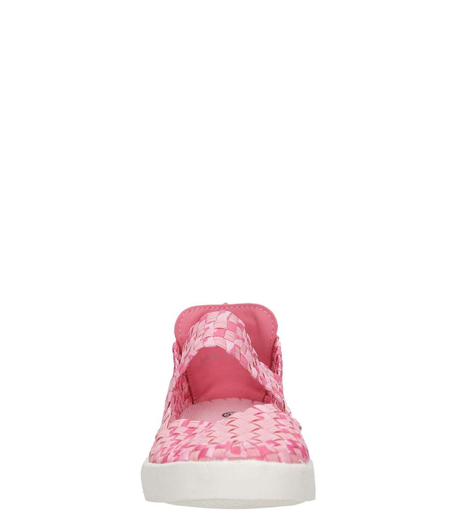 SPORTOWE CASU D1371 kolor różowy