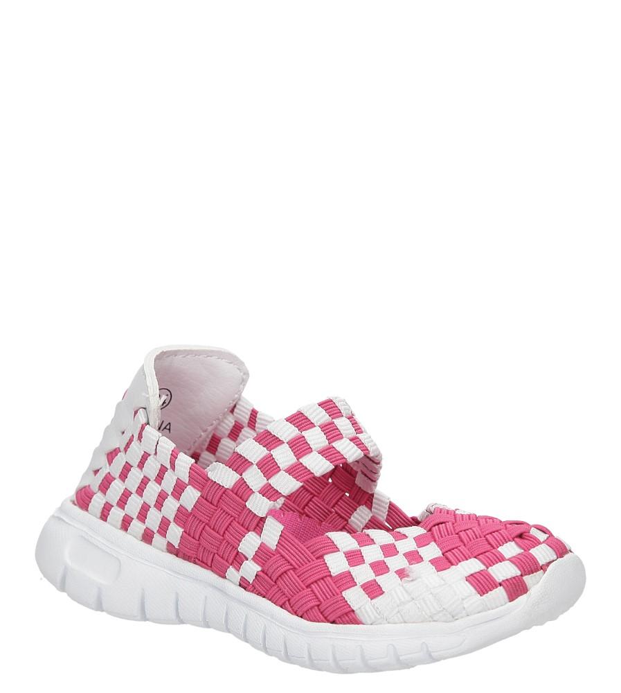 Dziecięce SPORTOWE CASU E1371-B różowy;biały;
