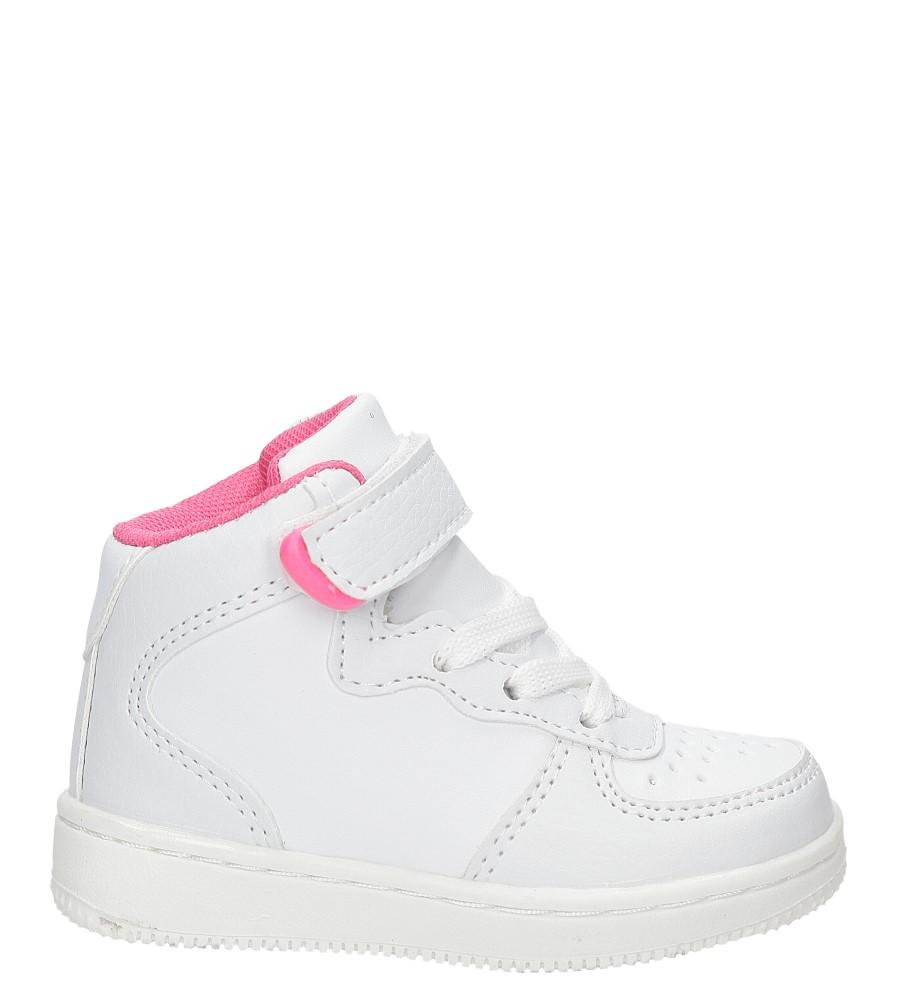 Dziecięce SPORTOWE CASU LF-07 biały;różowy;