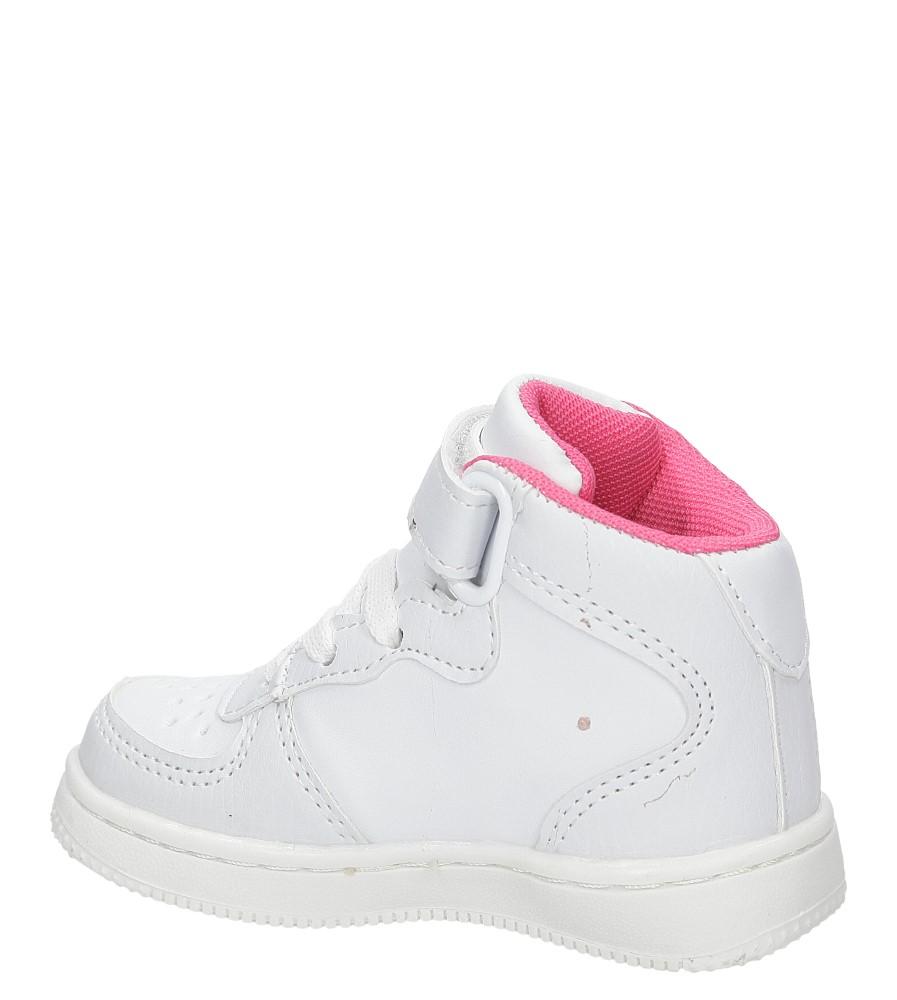 SPORTOWE CASU LF-07 kolor biały, różowy