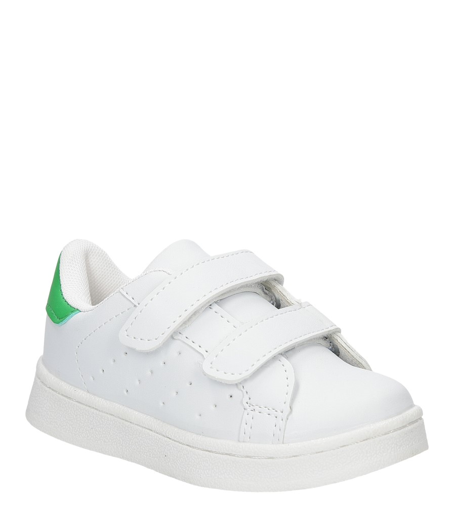 Dziecięce SPORTOWE CASU LF-11 biały;zielony;