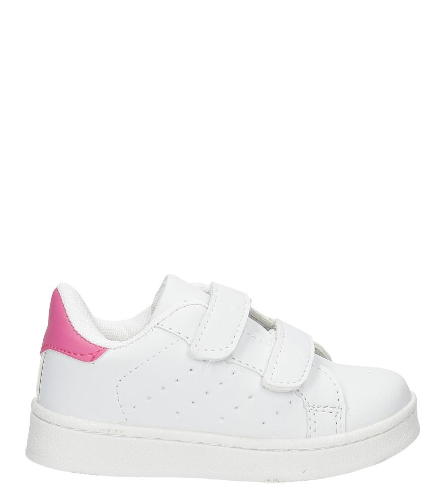 Dziecięce SPORTOWE CASU LF-12 biały;różowy;