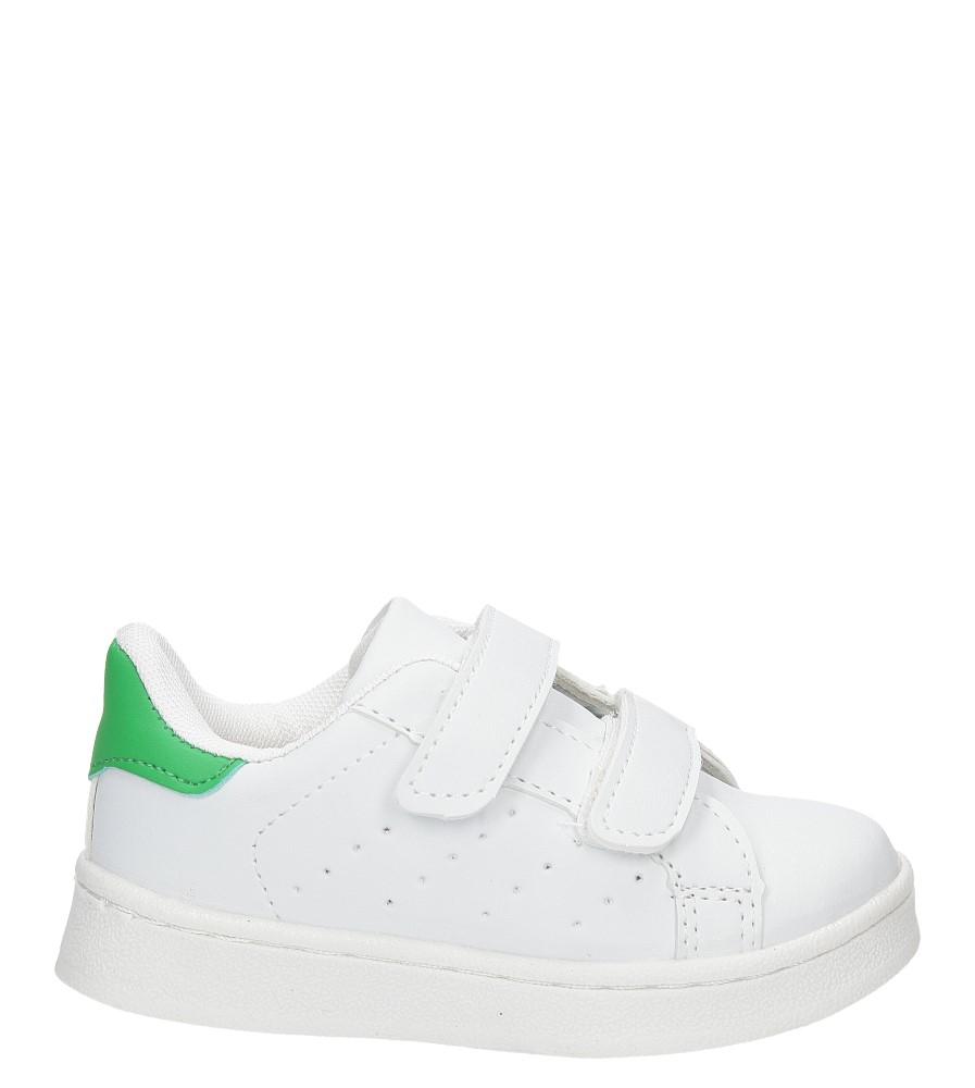 Dziecięce SPORTOWE CASU LF-12 biały;zielony;