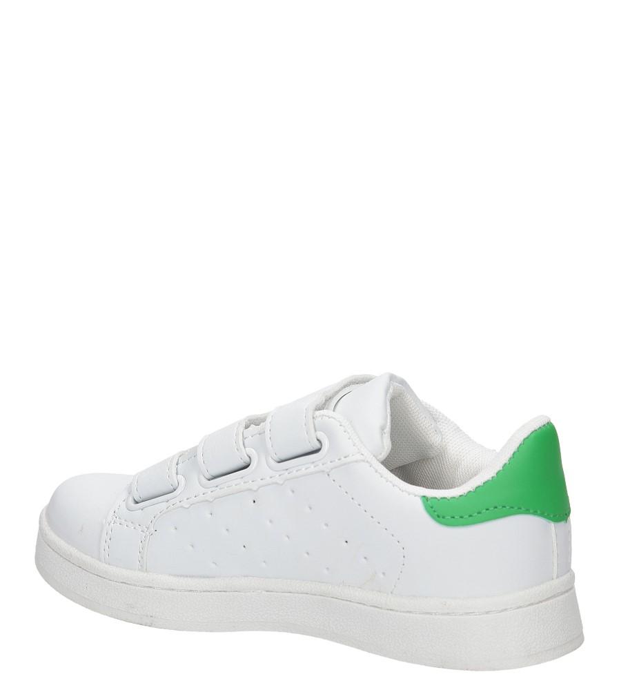 Dziecięce SPORTOWE CASU LF-13 biały;zielony;