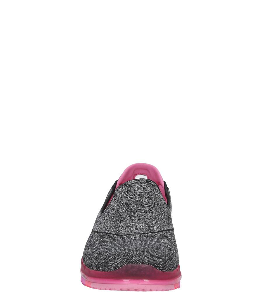 Damskie SPORTOWE SKECHERS 14010 czarny;różowy;