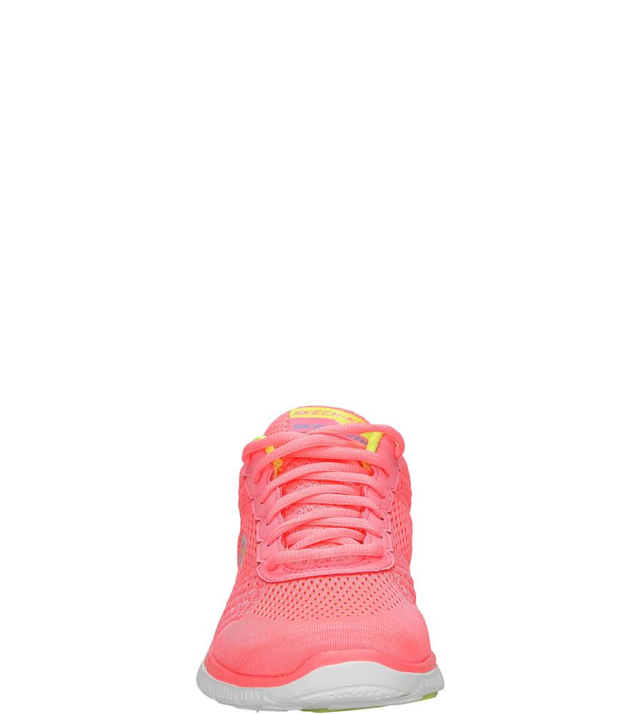 Damskie SPORTOWE SKECHERS 12058 różowy;żółty;