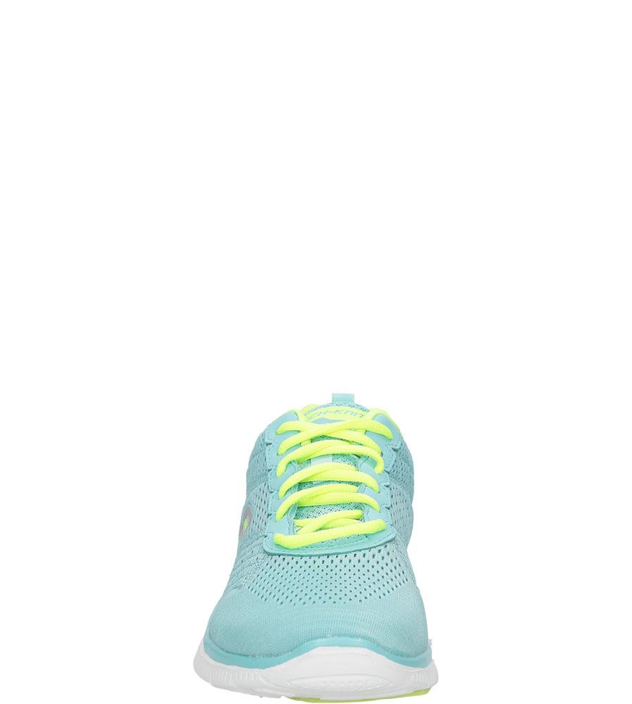 SPORTOWE SKECHERS 12058 kolor limonkowy, niebieski