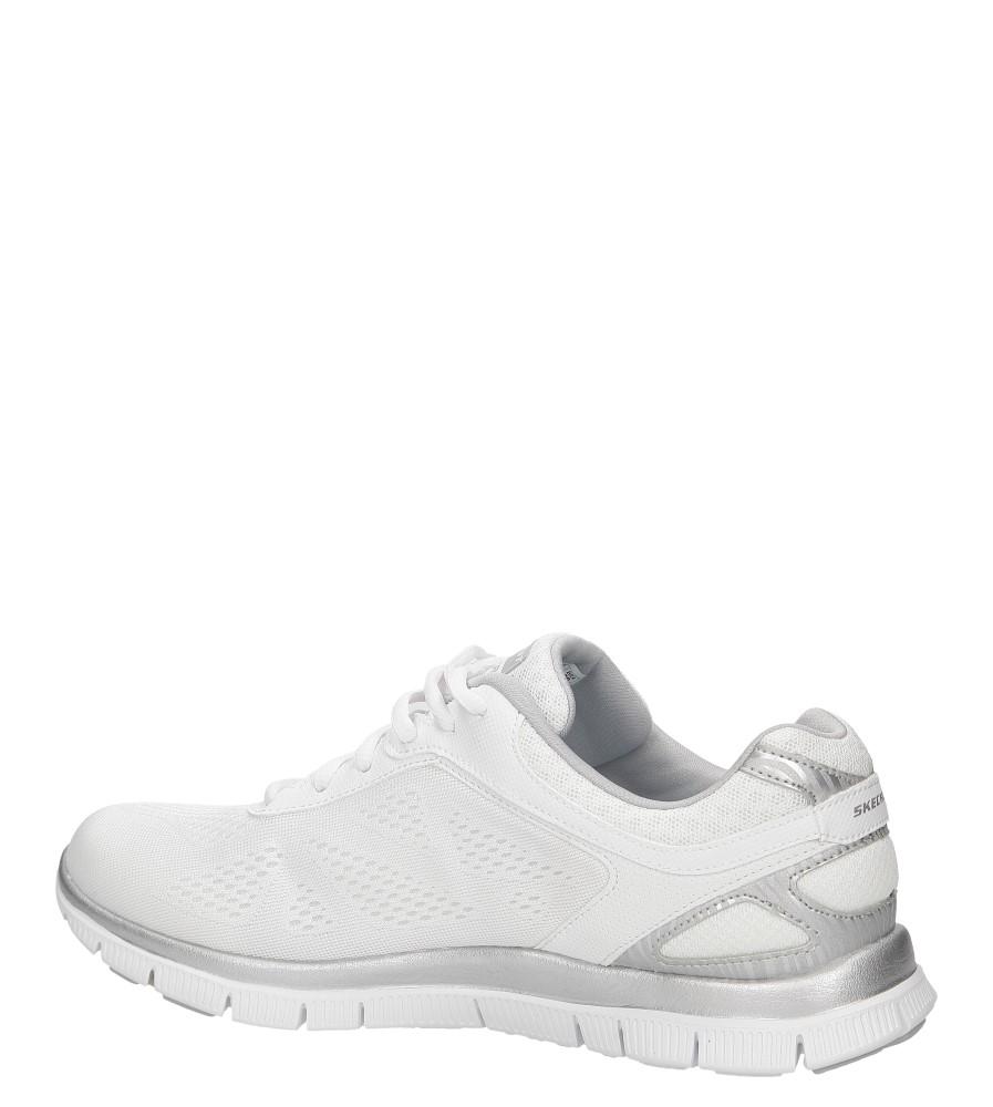 Damskie SPORTOWE SKECHERS 11728 biały;srebrny;