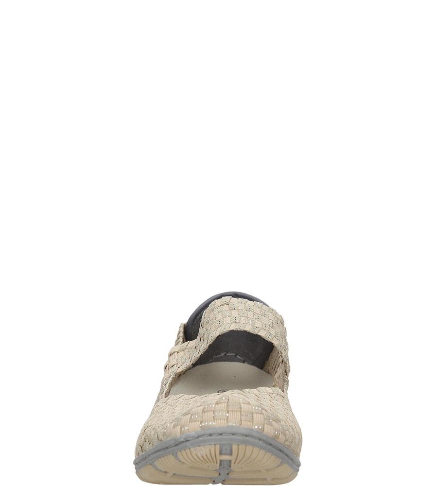 Damskie SPORTOWE ROCK SPRING CAPE TOWN beżowy;srebrny;
