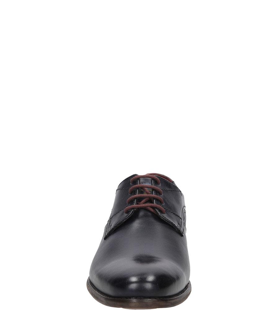 WIZYTOWE BUGATTI 311-12801-1100 kolor granatowy
