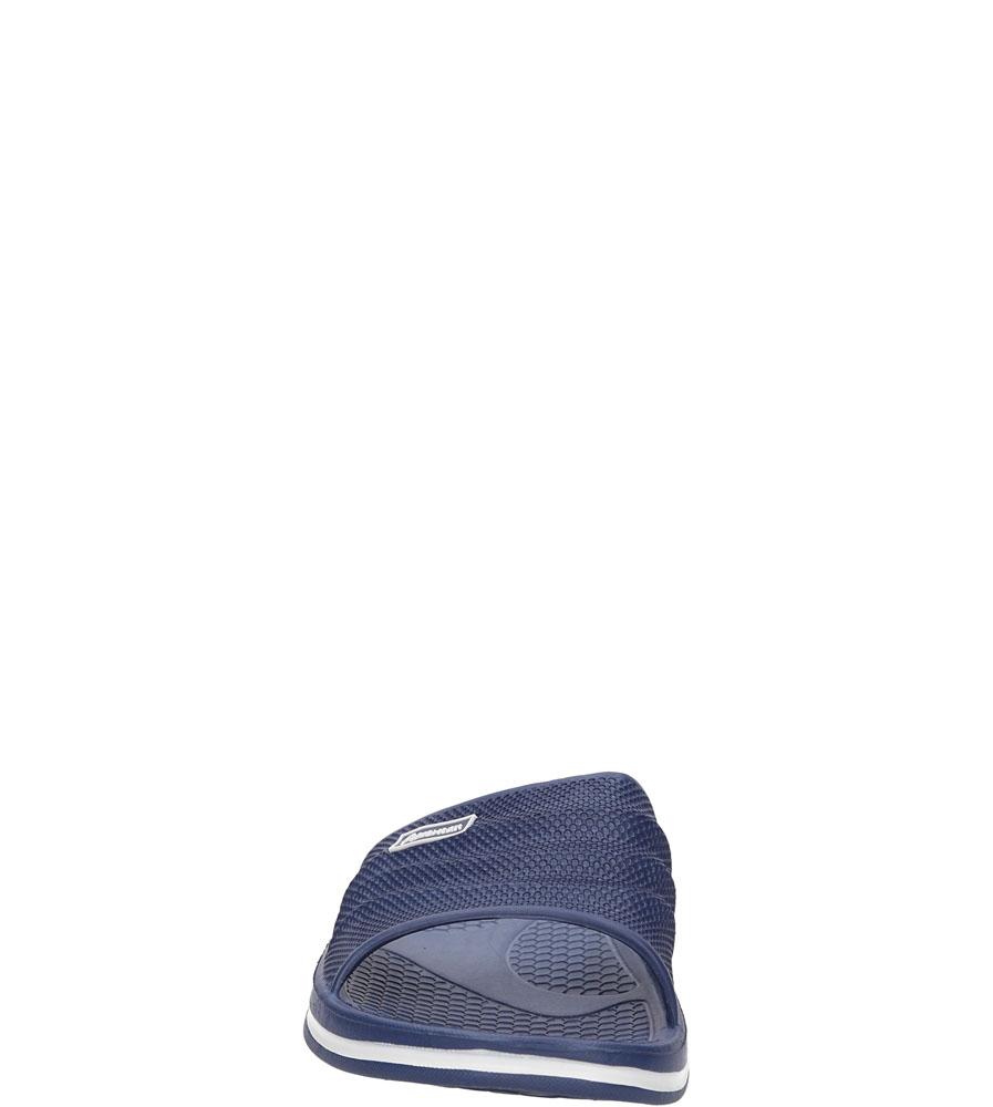 Damskie KLAPKI AMERICAN A038-141216-1 niebieski;;