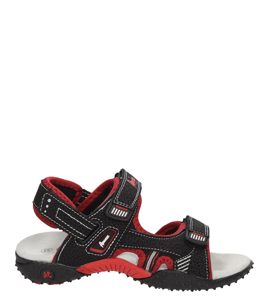 Dziecięce SANDAŁY AMERICAN SC1404-1 czarny;czerwony;