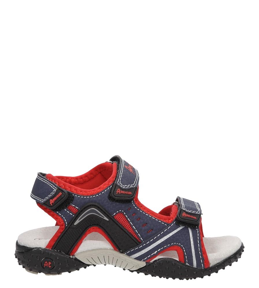 Dziecięce SANDAŁY AMERICAN SC1514 niebieski;czerwony;